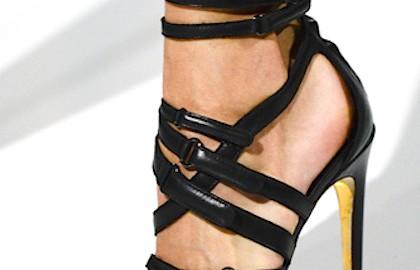 Scarpe alte nere Antonio Berardi