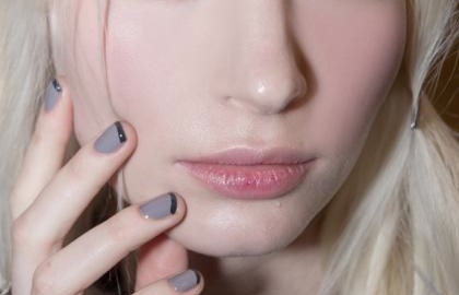 french manicure Morgan Taylor