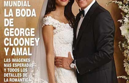 matrimonio clooney amal copertina hola