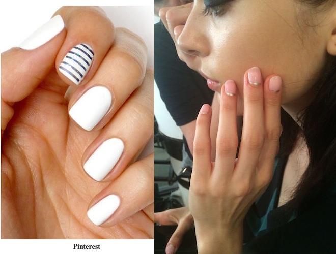 Préférence Tendenze: rosa e bianco sulle unghie - A tutta Bellezza AY17