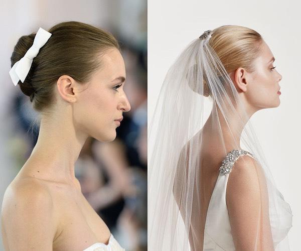 acconciatura sposa capelli raccolti