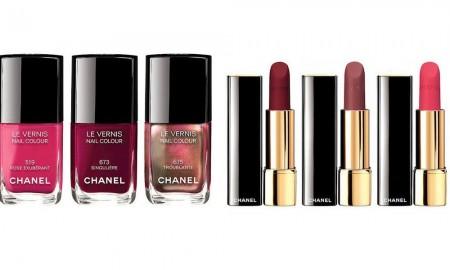 Smalti rossetti inverno 2016 Chanel