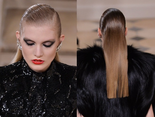 Saint Laurent make up inverno 2016-2017