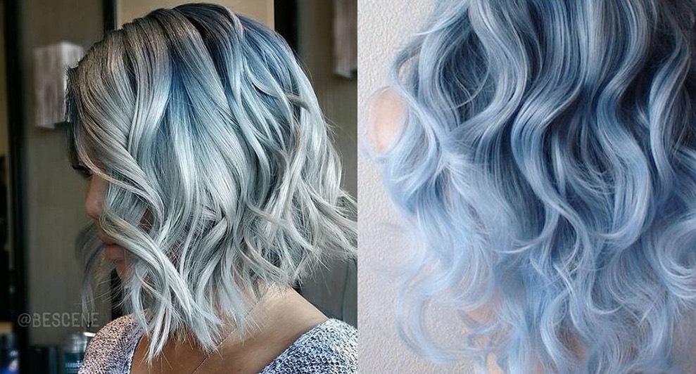 Colore capelli blu grigio – Tagli di capelli popolari in Europa b9420cbc4928