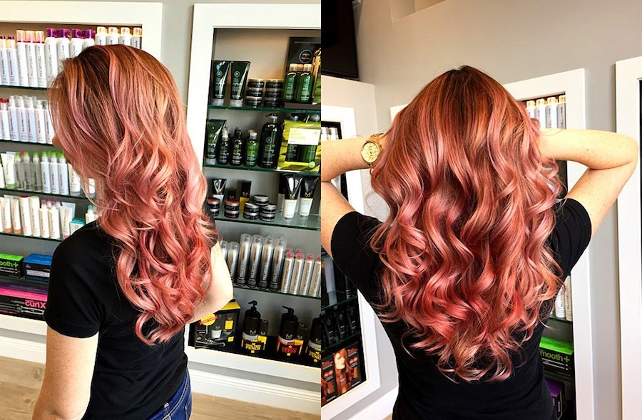 Capelli rose gold paul mitchell