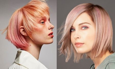 capelli biondi e rosa colore 2021 2022