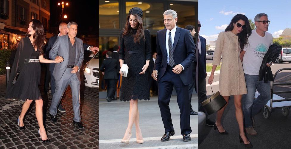 Amal e George Clooney- ultimo look maggio 2016