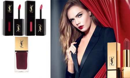 Saint Laurent make-up rossetto smalto inverno 2016
