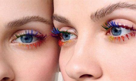 ciglia multicolor Instagram