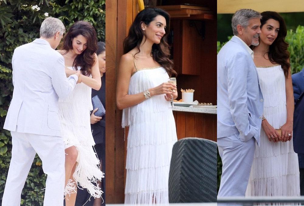 Amal George Clooney 31 luglio 2016 -Como