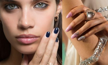 unghie moda tendenza estate 2017-nail art - french