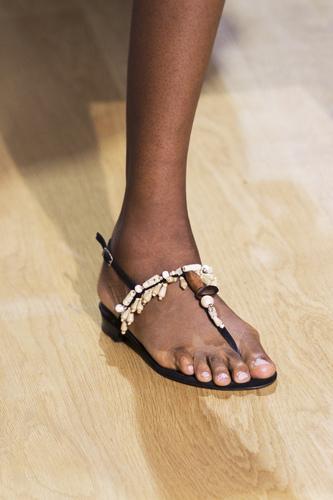 De La Renta sandali infradito.