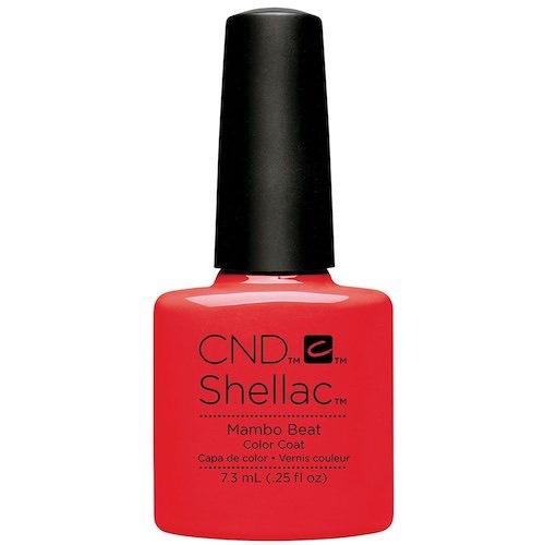 Shellac nuovo smalto rosso estate 2017