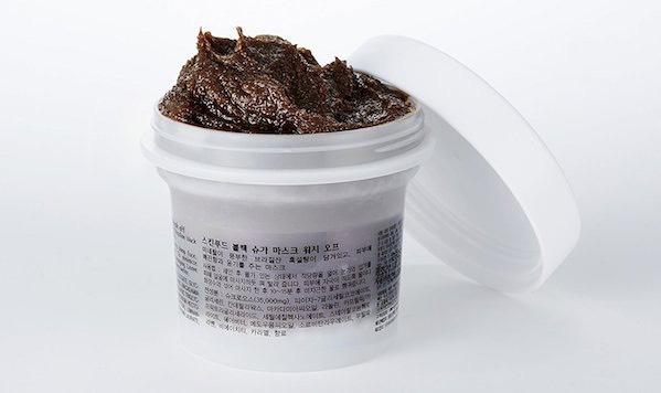scrub beauty routine coreana