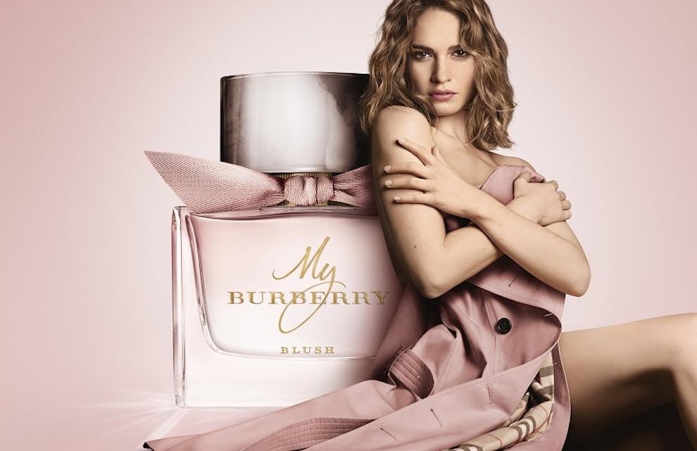 My Burberry Blush -profumo foto campagna