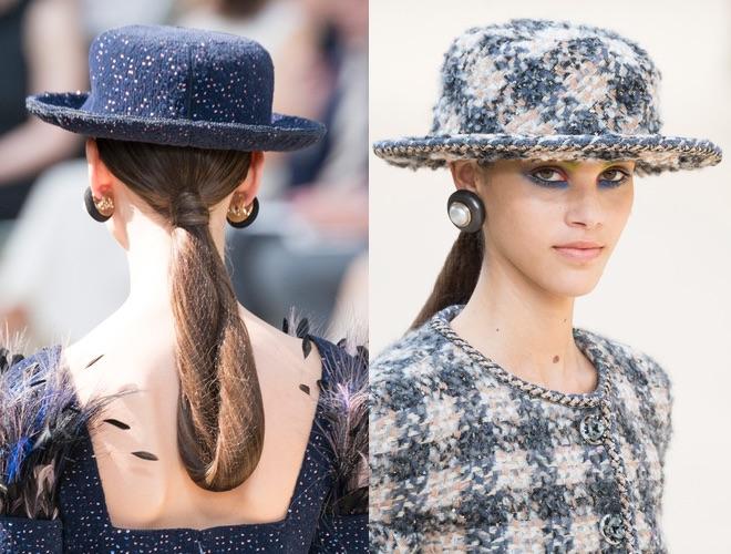 trucco capelli Chanel inverno 2017-2018