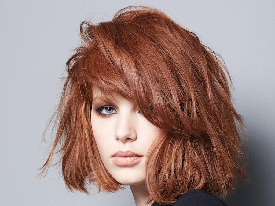 Colore capelli rame