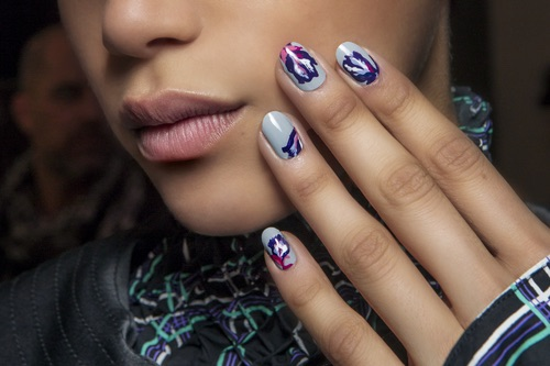 Kenzo unghie nail art 2018