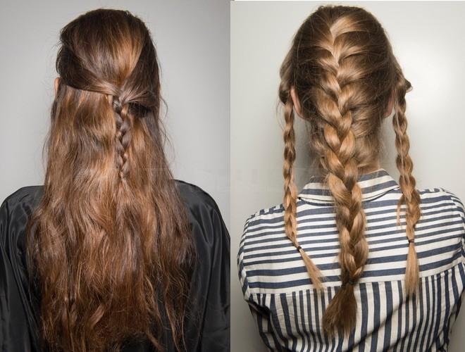 capelli estate 2018 trecce