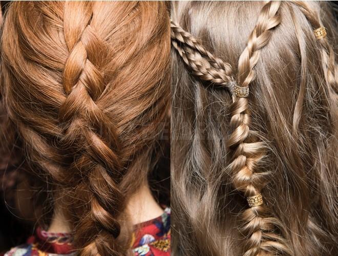 capelli intrecciati estate 2018