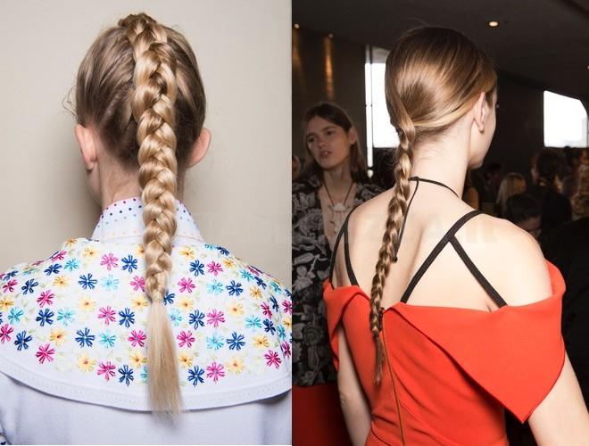 capelli trecce estate 2018