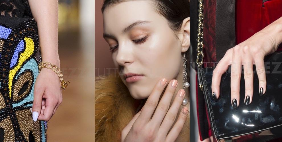 forma delle unghie moda