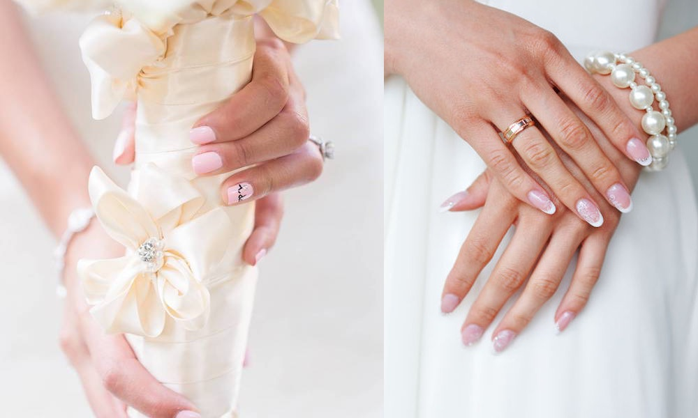 Unghie Sposa 2018 111 Manicure Gel Eleganti Naturali E Particolari