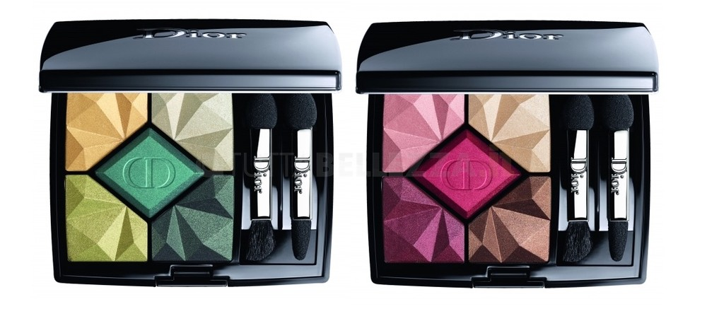 Dior make up palette ombretti Natale 2017_