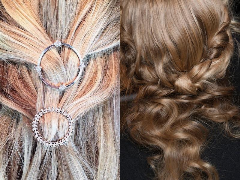 Semiraccolto 2018 capelli sposa