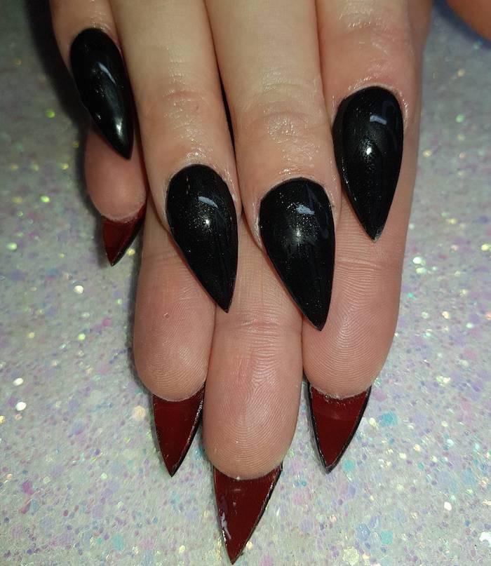 abbastanza Inverno smalto nero o rosso: le 31 unghie particolari migliori di  BY17