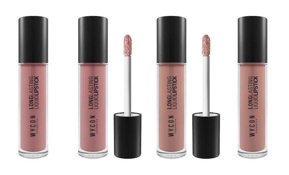 WYCON cosmeticsNude Lipstick 2017 rossetti liquidi
