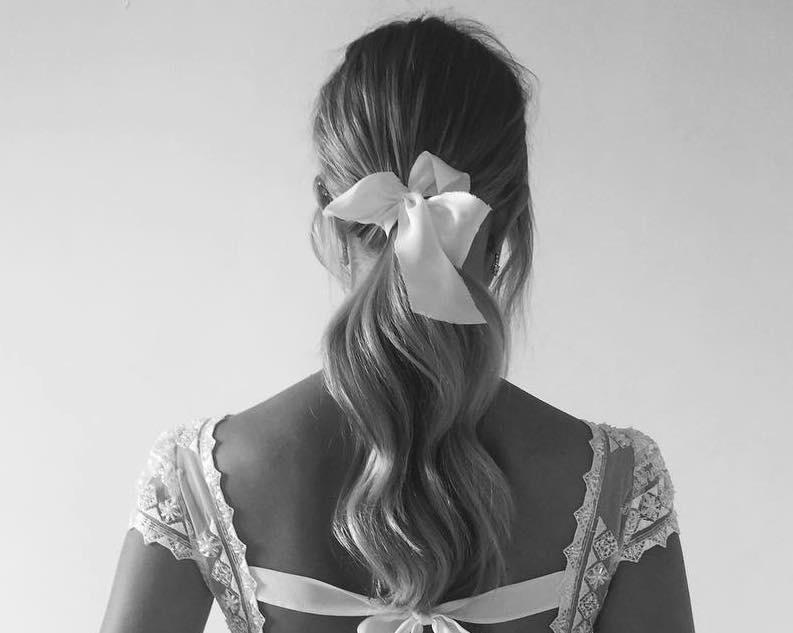 acconciatura capelli sposa 2018 2019 legati