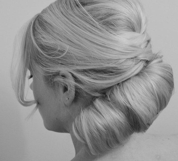 capelli raccolti extension sposa 2018
