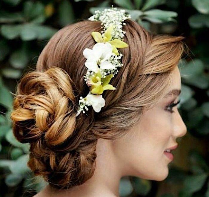 capelli moda sposa acconciatura romantica