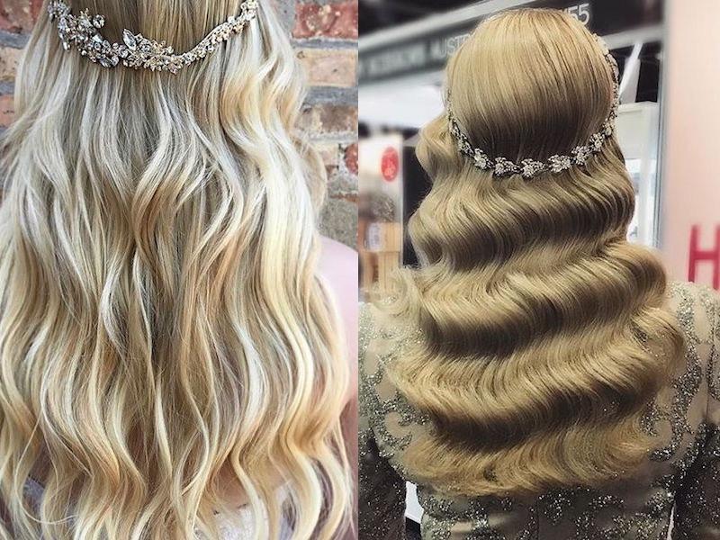 capelli sposa 2018 lunghi sciolti
