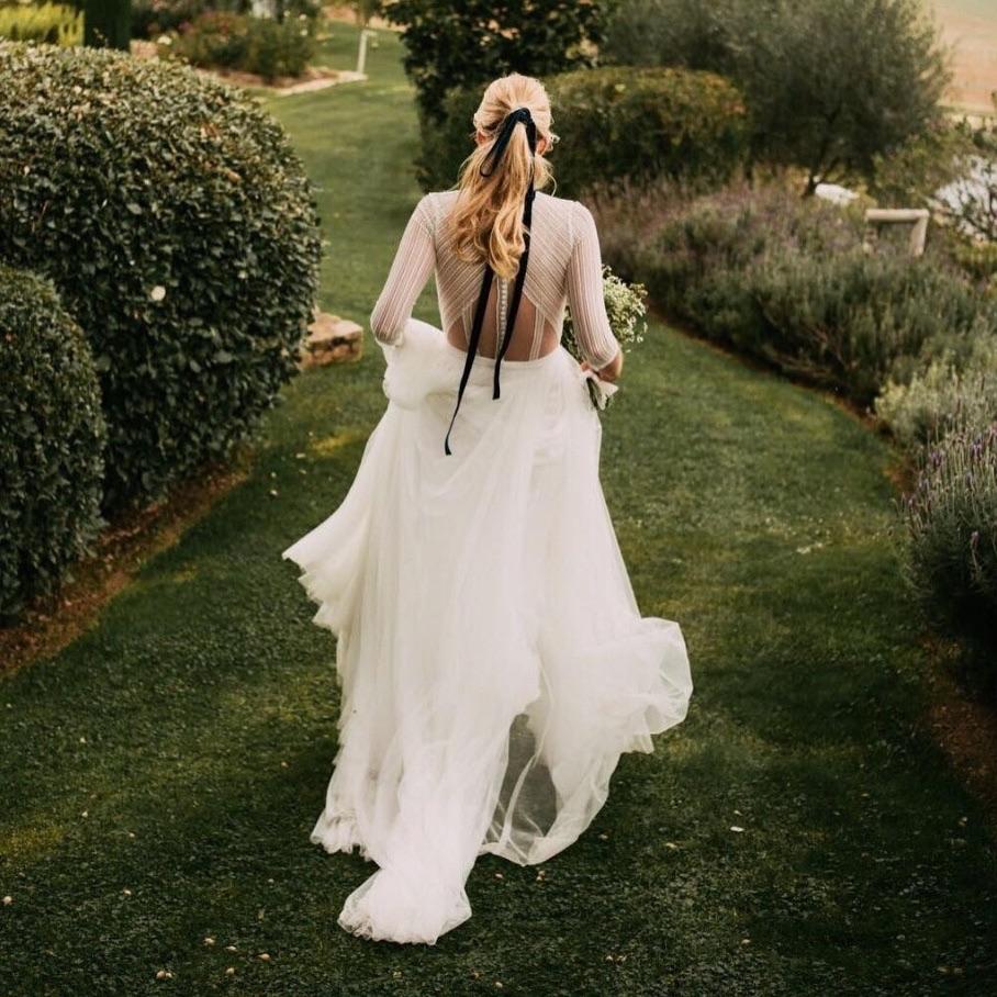 capelli sposa instagram legati