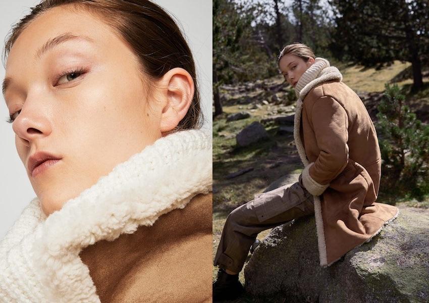 cappotto montone donna inverno 2018 Mango