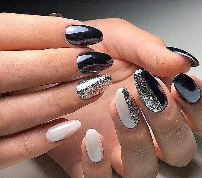 Inverno smalto nero o rosso: le 31 unghie particolari ...