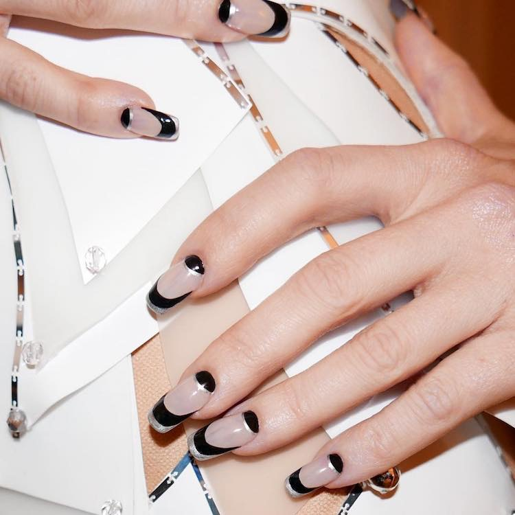 nail artfrench manicure Kate Hudson 2017