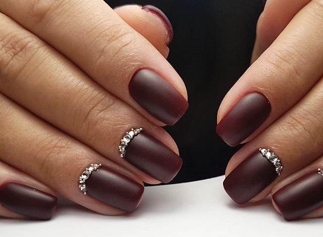 unghie smalto matte nails art natalizie