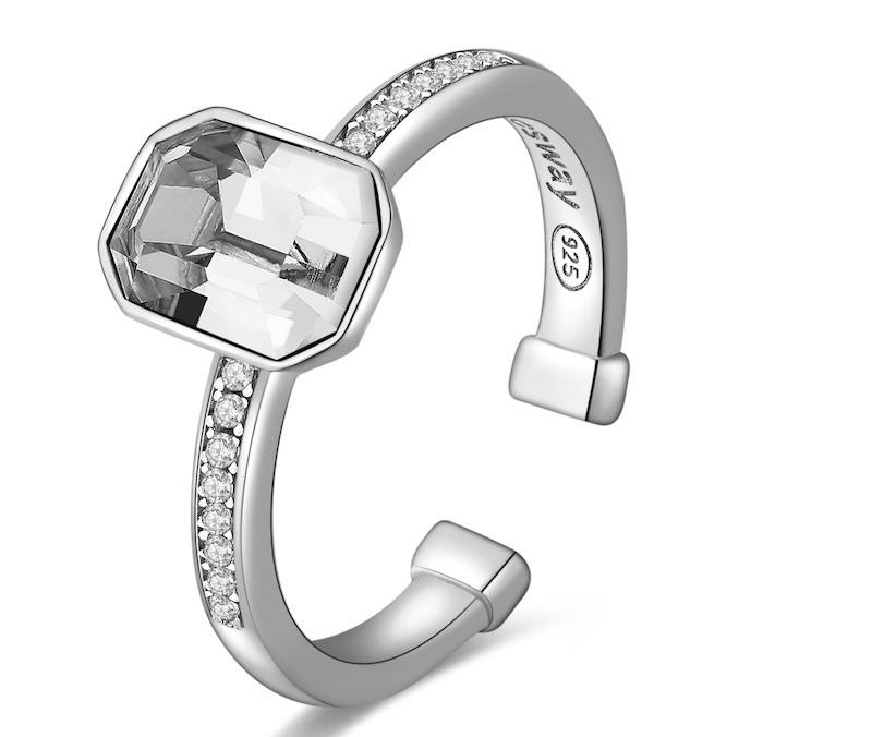 Brosway anello argento zirconi 2018