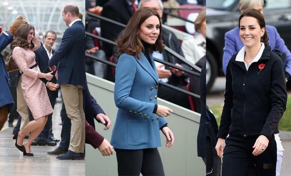 Kate Middleton incinta ultime news novembre 2017