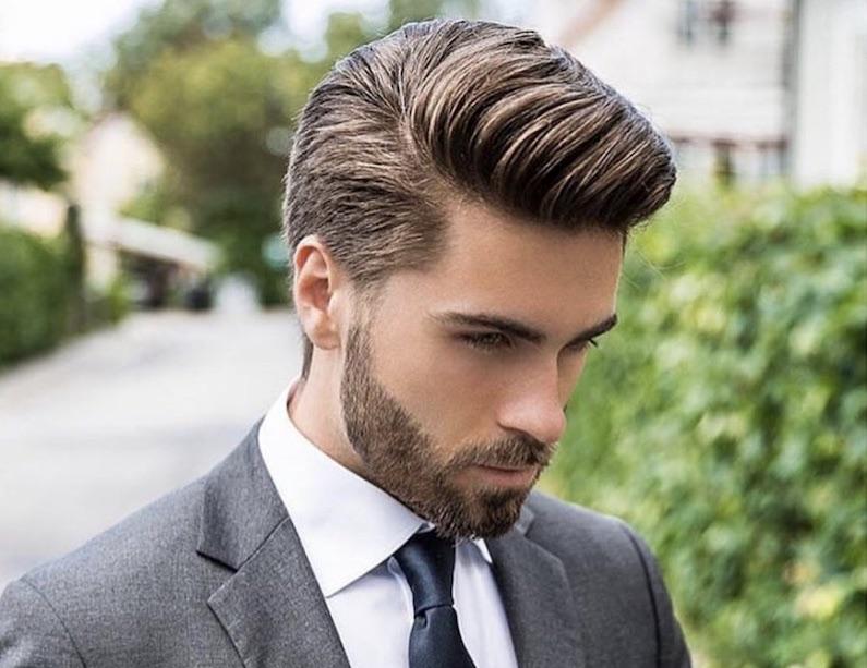 Fabuleux Capelli uomo 2018: il taglio maschile di tendenza è con ciuffo e  FT04