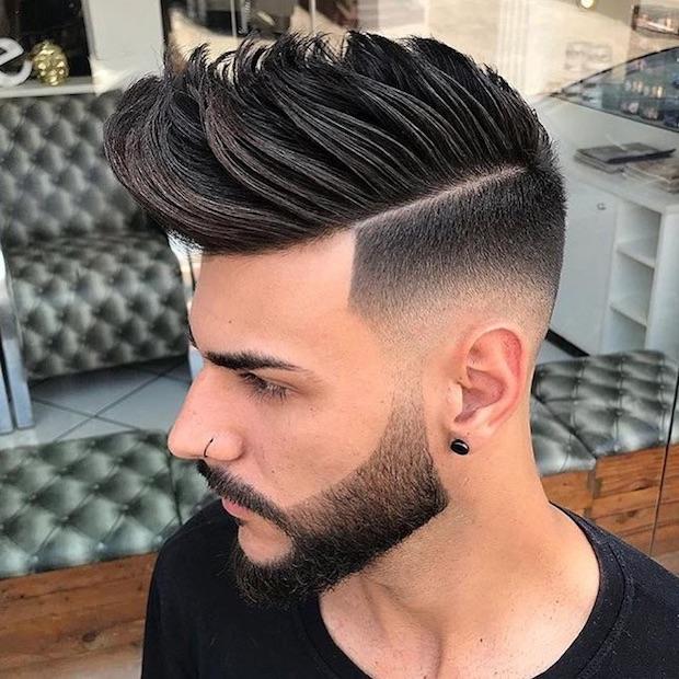 Popolare Capelli uomo 2018: il taglio maschile di tendenza è con ciuffo e  JO75