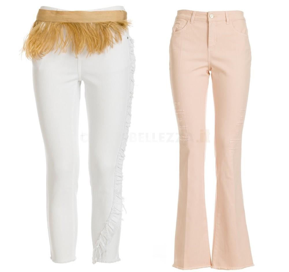 jeans pantaloni motivi collezione estate 2018