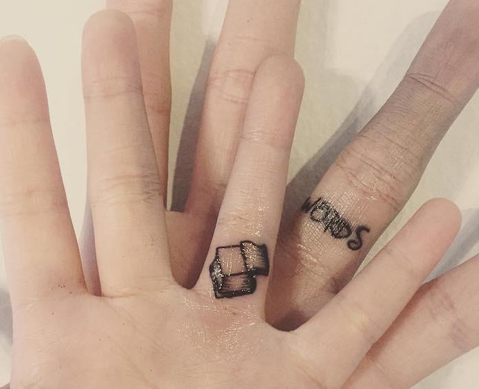 tatuaggio romantico per matrimonio