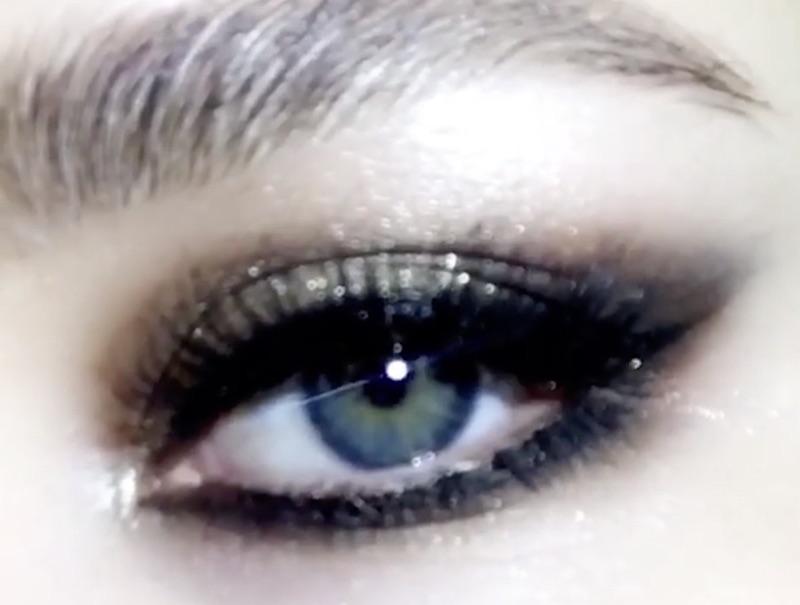 spesso Trucco occhi elegante, sera, cerimonia per occhi scuri o chiari  ZJ29
