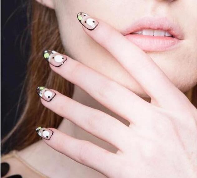 unghie nail art shellac estate 2018