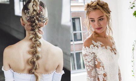 Capelli sposa 2018 trecce acconciatura tendenze moda