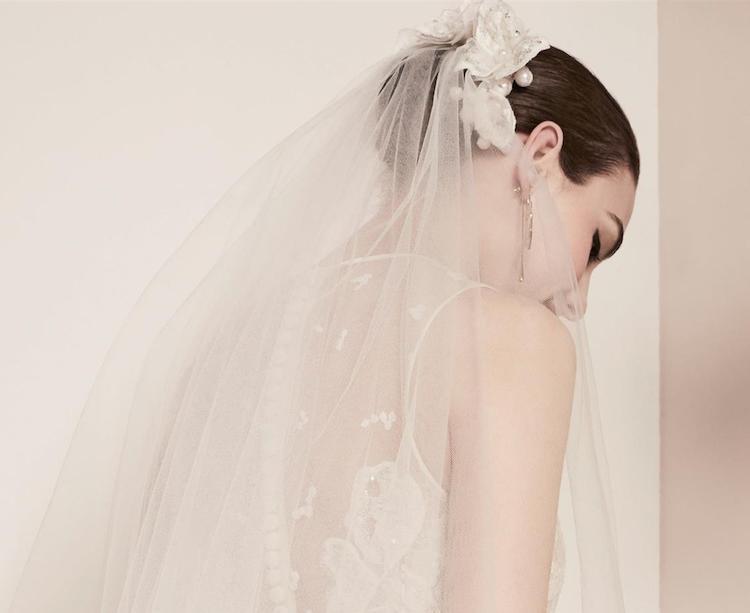 Elie-Saab-sposa acconciatura 2018 con velo